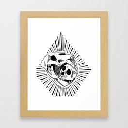 Bear Food Framed Art Print