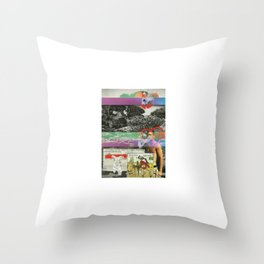 So We Beat On Throw Pillow