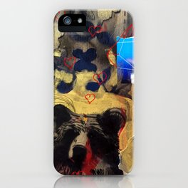 Bear Love iPhone Case