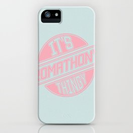 It's Roma Thony Thingy iPhone Case