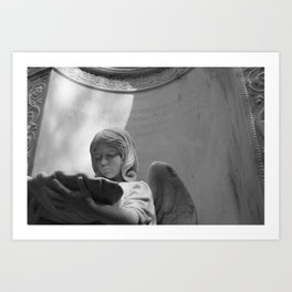 Angel of Bonaventure Art Print