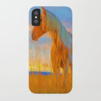 mustang iPhone & iPod Cases featuring Mustang by DigitalAndPhoto