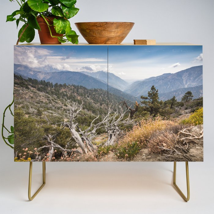Inspiration Point along Pacific Crest Trail Credenza
