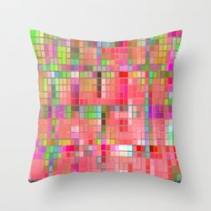 Re-Created CornerStone3~26~14 by Robert S. Lee Throw Pillow