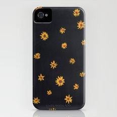 sunflower pattern iPhone (4, 4s) Slim Case