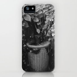 Lonely Trashcan iPhone Case