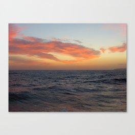 Pacific Sunset, CA Canvas Print