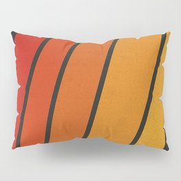 Retro 70s Stripes Pillow Sham