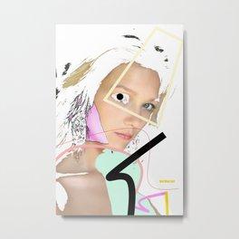 Woman N59 Metal Print