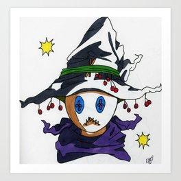 Mad Magician Art Print