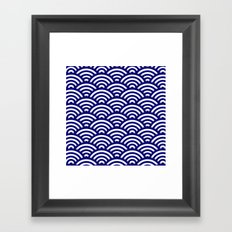 Circle B Framed Art Print