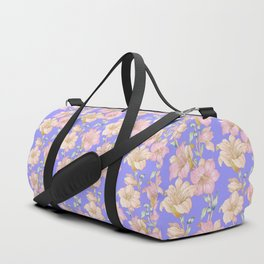 tropical pastels Duffle Bag
