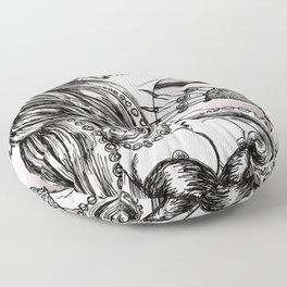 Mademoiselle Octopussy Floor Pillow