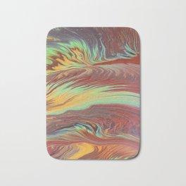 The Flow of Wood Bath Mat