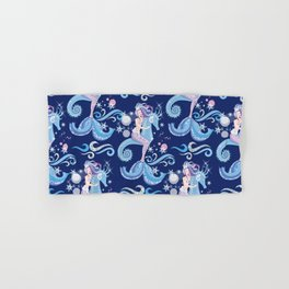 Ice Mermaid Hand & Bath Towel