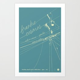 Frankie Cosmos @ Milk Run Art Print