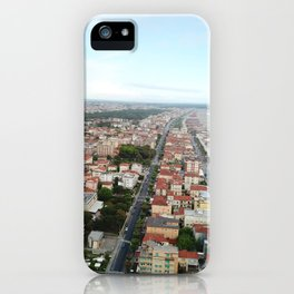 From above the Tuscan coastline iPhone Case