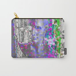 Grey Bust Carry-All Pouch