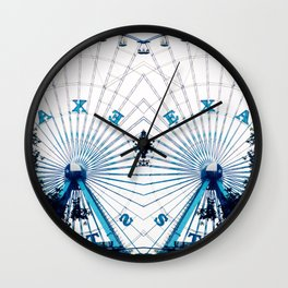 Two Alone Wall Clock