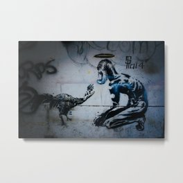 The Hand That Feeds Metal Print