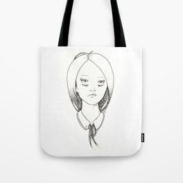 Hairtie Tote Bag
