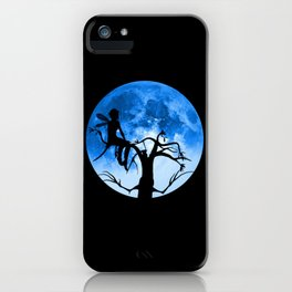 Moonlight Wondering Fairy iPhone Case