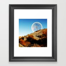 God will bring an end to this Framed Art Print