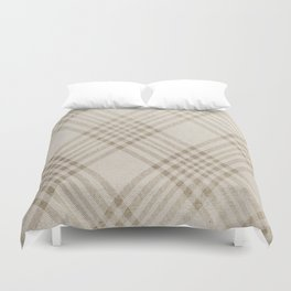Rich Beige Duvet Cover