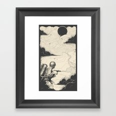 Sky Thrower Framed Art Print