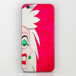 Cruella DeVille iPhone Skin