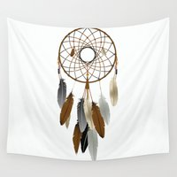 dream catcher Wall Tapestries featuring Dream Catcher by Rceeh