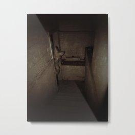 basement Metal Print