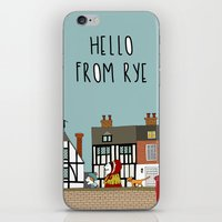catcher in the rye iPhone & iPod Skins featuring Rye Street by Natallia Pavaliayeva