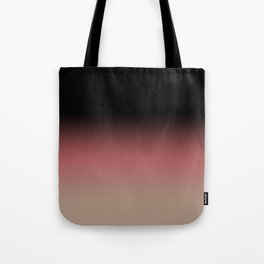 Ombre Black, Dusty Cedar, and Warm Taupe FALL 2016 PANTONE COLORS Tote Bag