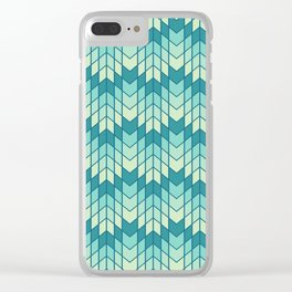 Jag Rip Tide Clear iPhone Case