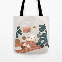the living room rug Tote Bag