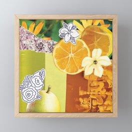 Lemon Sunshine Framed Mini Art Print