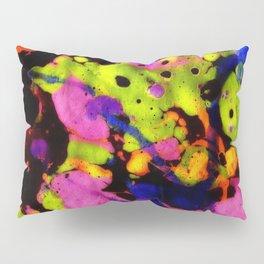 Paintskin with Orange and Blue Pillow Sham