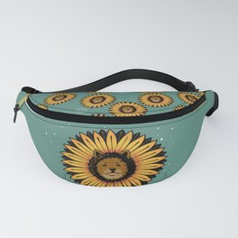 Chow Flower Fanny Pack