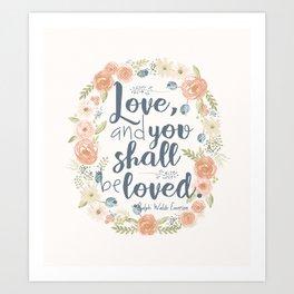 Sweet Sayings 3 Art Print