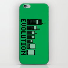 Cell Phone Evolution iPhone & iPod Skin