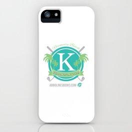 Rosemary Beach Kerrington Club iPhone Case