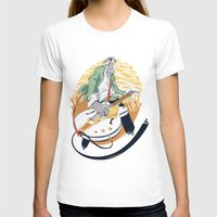 falcon T-shirts featuring White Falcon by Oxana-Milka