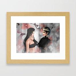 A Queen's Self Love Framed Art Print