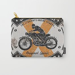 Vintage Speedmaster Bike Racing Poster Carry-All Pouch