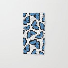 Blue morpho butterflies Hand & Bath Towel