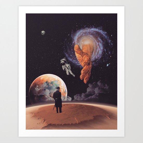 Lost In Space Art Print