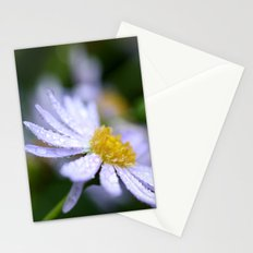 flower with raindrops  Stationery Cards
