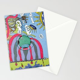 use your imagination Stationery Cards
