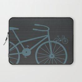 Grey Bike by Friztin Laptop Sleeve